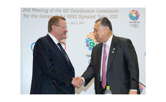IOCから高評価   2020年東京大会 調整委員会会議
