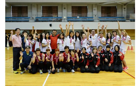 静寂の中、高度な戦い    2015ジャパンパラ ゴールボール競技大会