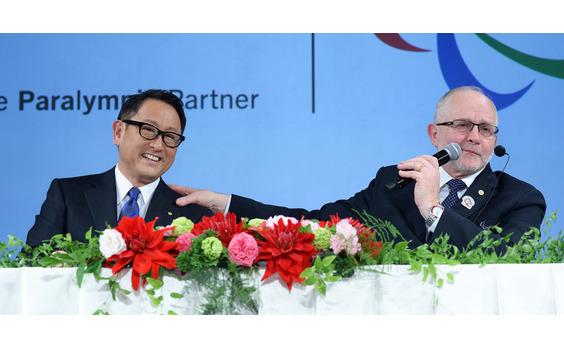 トヨタ自動車   「ワールドワイド・パラリンピック・パートナー」契約を締結