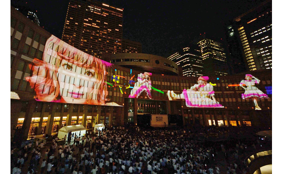 東京オリンピック3年前   都民広場で大型イベント開催