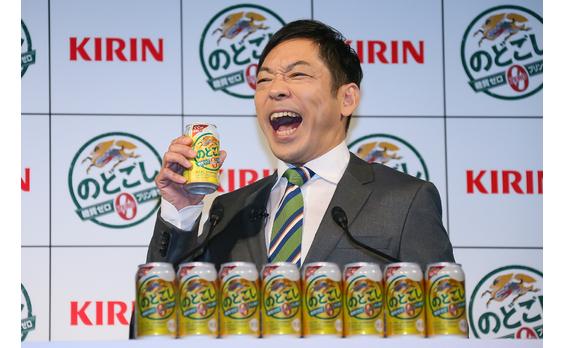 """キリンビール""""社員""""の香川さん   「のどごし ZERO」のプレゼンで熱弁"""