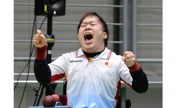 「ジャパンパラボッチャ競技大会」   息詰まる熱戦が展開