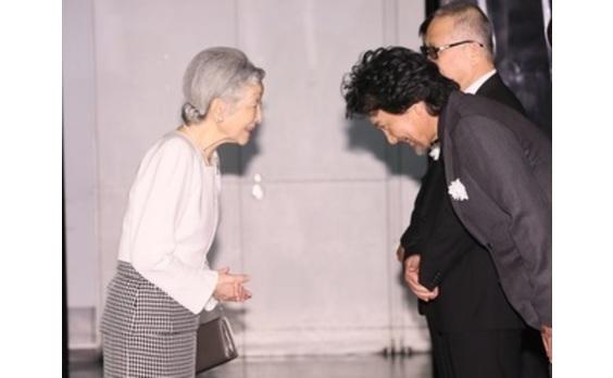 皇后陛下もご臨席!  日本を代表する俳優陣による 映画「蜩ノ記」東日本大震災復興支援チャリティー試写会
