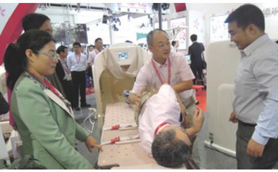 中国で国際福祉展 巨大市場に日系が挑戦