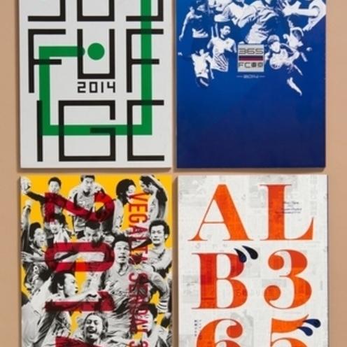 """Jリーグのクラブチーム本   """"365プロジェクト""""   今年は4冊発売!"""