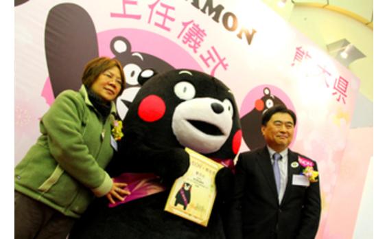 香港発★くまモンが初の一日店長 香港で熊本美食をPR