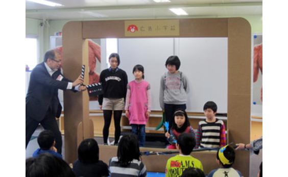 「広告小学校」の特別授業を 南相馬で実施