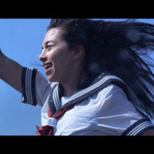 美しい女子高生  走る走る!飛ぶ! ポカリスエット新CM