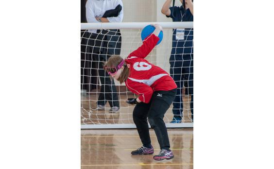子どもたちに   ゴールボールの楽しさを伝えたい!