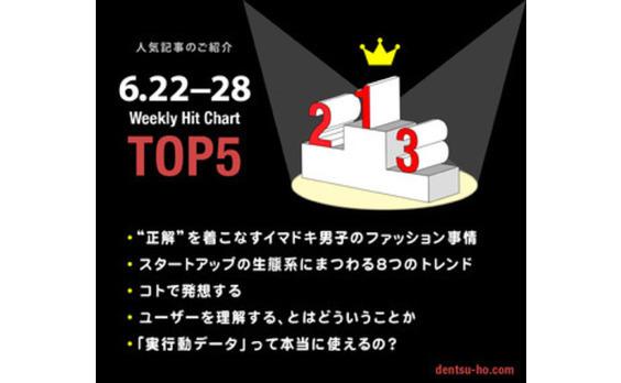 【人気記事TOP5】6月22日~28日