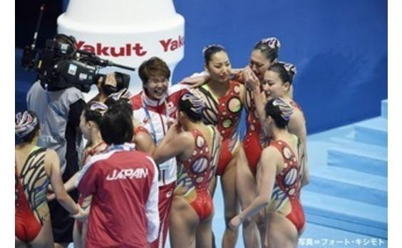 世界水泳始まる。   日本、早くも2種目で銅メダル!