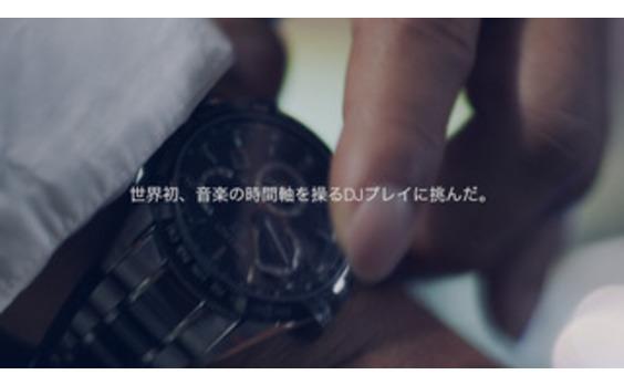 腕時計がターンテーブルに!   DJプレー動画が25万回再生突破