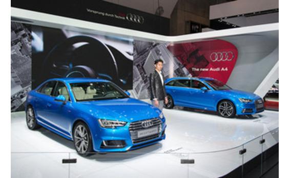 A4新シリーズはじめ7台を日本初公開  ―アウディ(TMS)