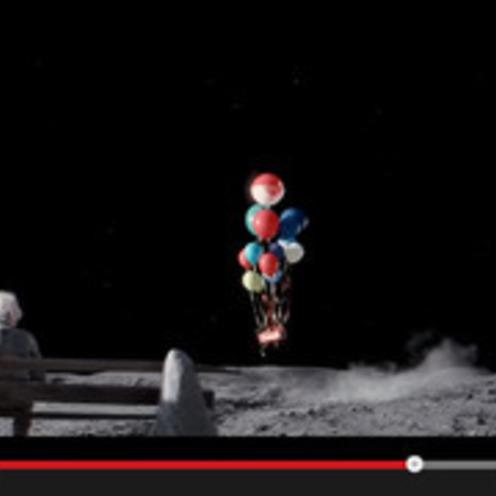 英国発★百貨店ジョン・ルイス、注目のクリスマス広告「#ManOnTheMoon」