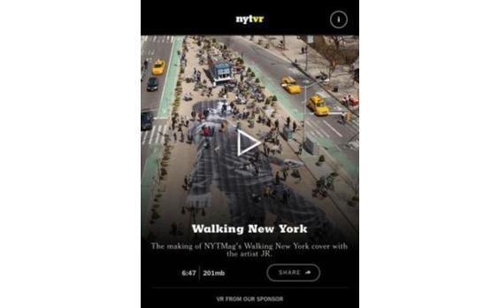 US発★NYタイムズがVRアプリ 「グーグル・カードボード」と協働
