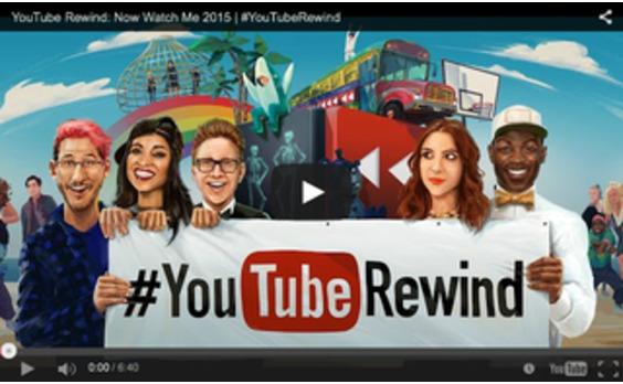 US発★究極のマッシュアップ YouTube Rewind 2015