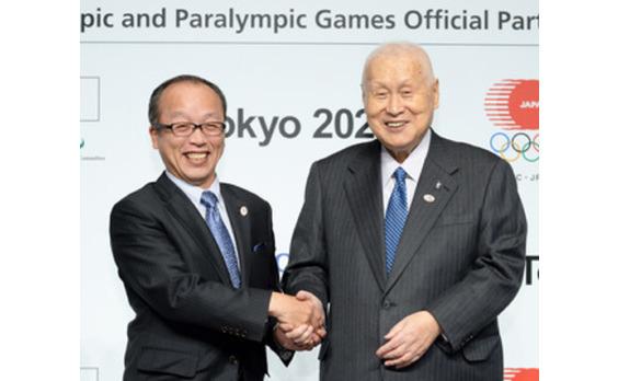 TOTO   東京2020大会のオフィシャルパートナーに