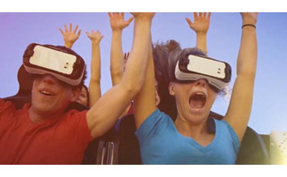 US発★リアル絶叫マシンでVR体験 Six Flagsとサムスンが協働