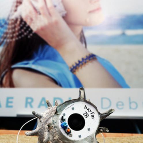 ベイエフエム   本物のサザエで作った 「SAZAE RADIO」を開発!