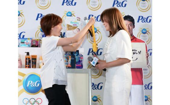 P&G  リオ大会に向け「ママの公式スポンサー」 キャンペーンを本格始動