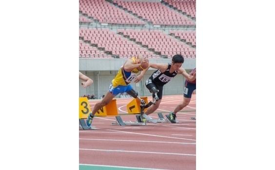 ジャパンパラ陸上競技大会   リオを目指し、熱い戦い繰り広げる