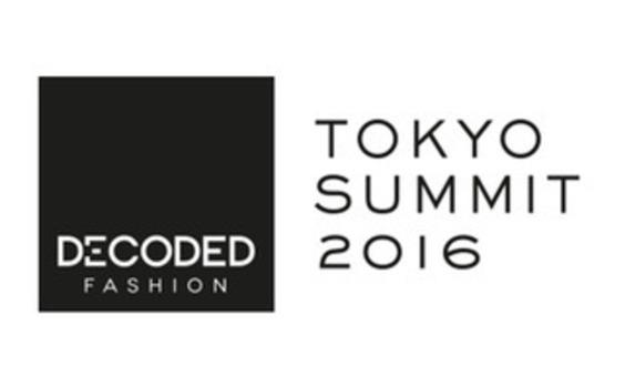 電通、「Decoded Fashion Tokyo Summit 2016」にプロジェクト・パートナーとして参画