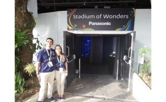 パナソニック リオ大会で大規模な貢献と活動