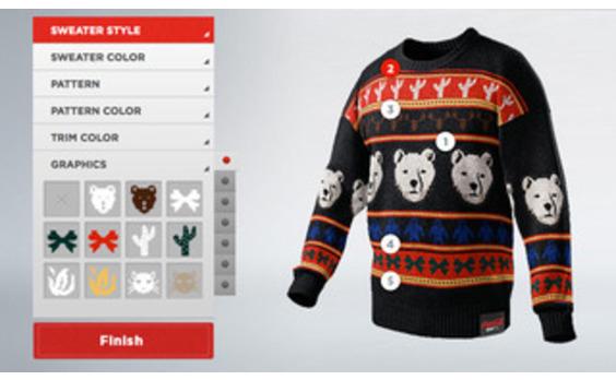 US発★ コカ・コーラのセーターデザインコンテスト「Coke Zero Sweater Generator」