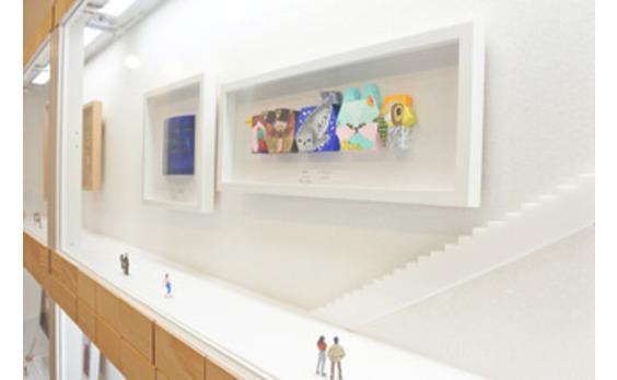 小さな美術館「かまぼこ板絵美術館」オープン