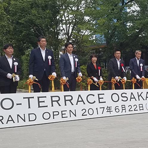 大阪城公園に「JO-TERRACE OSAKA」開業!緑に包まれた新名物スポット