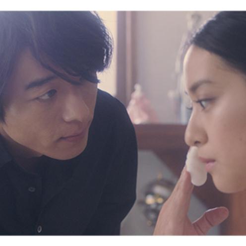 資生堂「スノービューティー」   連続ショートドラマで、高橋さんと武井さんが 時を超えた恋を熱演