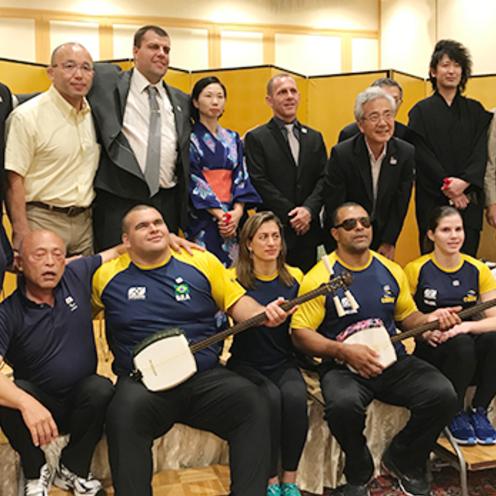 ブラジル視覚障がい者柔道チームが来日し弘前で合同合宿 弘前出身の柔道家・前田光世の足跡探るシンポジウムも開催