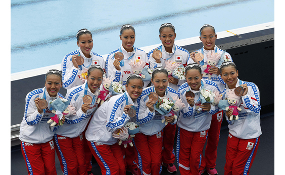 「世界水泳」閉幕   日本は9個のメダル獲得
