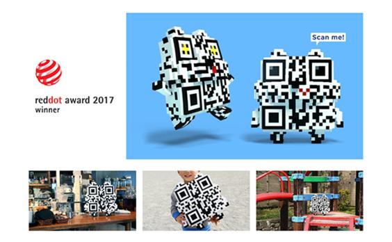 QRコードのキャラクター「Mr.QR」がドイツのプロダクトデザイン賞「red dot賞」を受賞