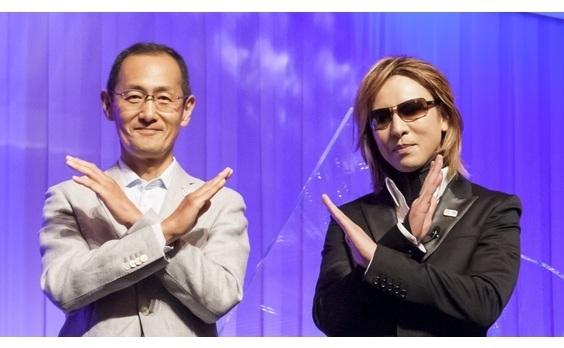 """「ONE TEAM PROJECT」第3弾は、 YOSHIKIさんと山中教授の対談動画   """"名曲""""のピアノ生演奏も収録"""