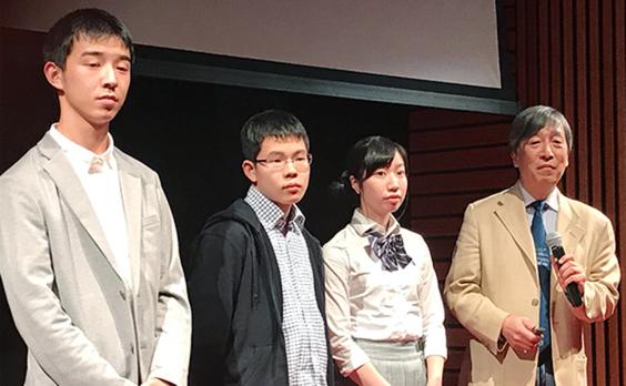 福島の環境回復を伝えたい。福島県在住の高校生3人が世界に発信