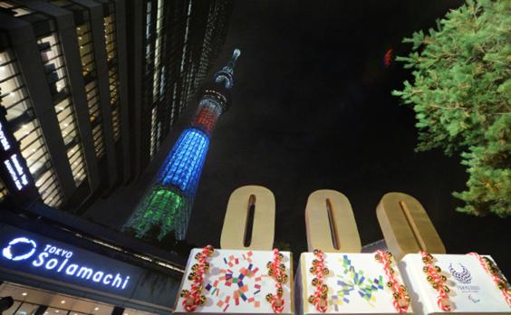 東京2020パラリンピックまであと1000日 カウントダウンイベント盛り上がる