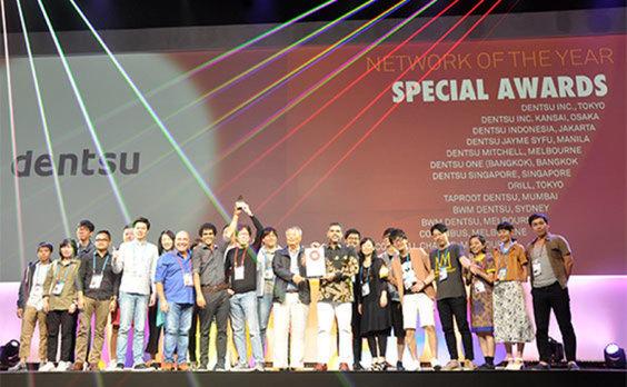 電通、第21回アジア太平洋広告祭(ADFEST 2018)において、2年連続の「ネットワーク・オブ・ザ・イヤー」をはじめ、多数の賞を受賞