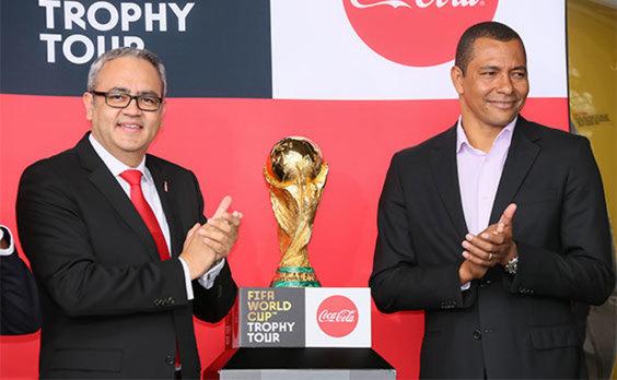 「コカ・コーラ FIFA ワールドカップ トロフィーツアー」 国内3カ所で優勝トロフィー披露