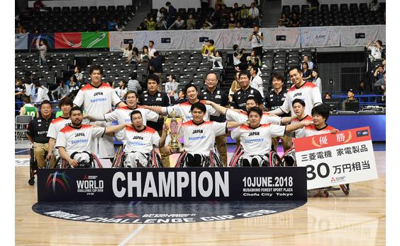 「三菱電機 WORLD CHALLENGE CUP 2018」  日本、全勝優勝で2020に弾み!