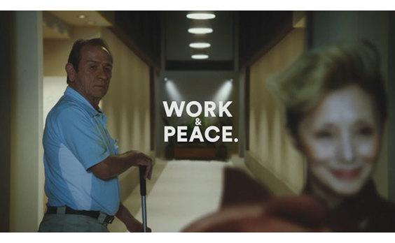 「クラフトボス ブラウン」CM  あのオフィスに新CEOが登場