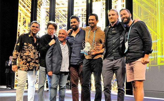 電通グループ、第65回カンヌライオンズでグランプリ2部門を含む30個の賞を獲得