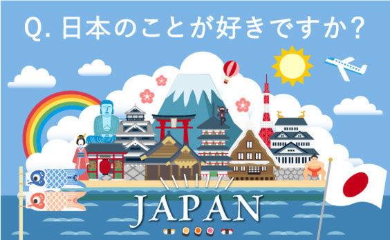 日本のことを好きな国は?