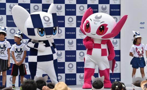 東京2020マスコット  「ミライトワ」「ソメイティ」デビュー!