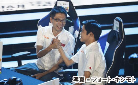 アジア大会  eスポーツ「ウイイレ」で 日本代表が優勝!