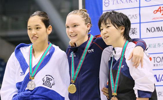 「2018ジャパンパラ水泳競技大会」  記録更新が続出
