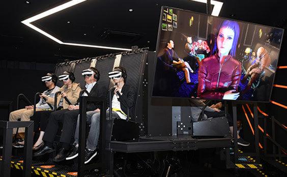 超現実ライド型シアター「ヘキサライド」がダイバーシティ東京 プラザに誕生! 第1弾は「攻殻機動隊 GHOST CHASER」