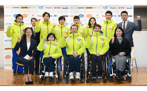 日本障害者スキー連盟  シーズンキックオフ記者会見