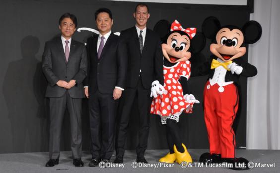 ディズニーとドコモ  「Disney DELUXE」を提供開始