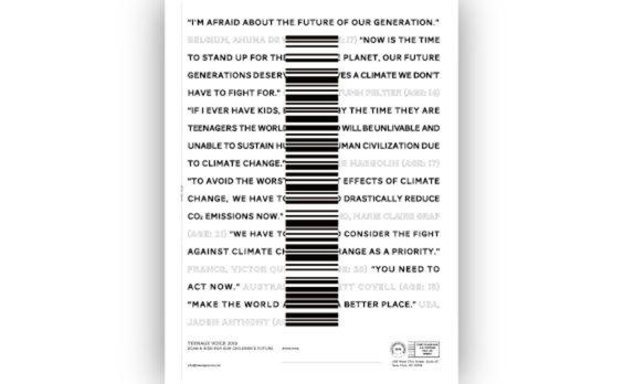 「Teenage Voice 2019」スタート  気候変動に対する子どもたちの署名募集